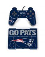 New England Patriots Team Motto PlayStation Classic Bundle Skin