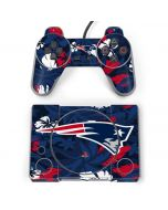 New England Patriots Tropical Print PlayStation Classic Bundle Skin