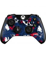 New England Patriots Tropical Print Xbox One Controller Skin
