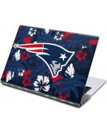 New England Patriots Tropical Print Yoga 910 2-in-1 14in Touch-Screen Skin