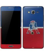 New England Patriots Vintage Galaxy Grand Prime Skin