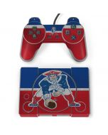 New England Patriots Vintage PlayStation Classic Bundle Skin