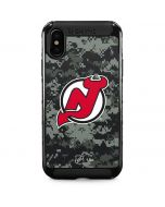 New Jersey Devils Camo iPhone XS Max Cargo Case