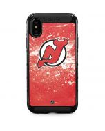 New Jersey Devils Frozen iPhone XS Max Cargo Case