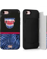New Jersey Nets Retro Palms iPhone 7 Wallet Case