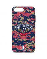New Orleans Pelicans Digi Camo iPhone 7 Plus Pro Case
