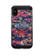 New Orleans Pelicans Digi Camo iPhone XS Max Cargo Case