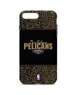 New Orleans Pelicans Elephant Print iPhone 7 Plus Pro Case