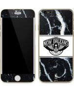 New Orleans Pelicans Marble iPhone 6/6s Skin