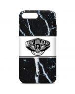 New Orleans Pelicans Marble iPhone 7 Plus Pro Case