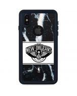 New Orleans Pelicans Marble iPhone XS Waterproof Case