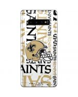 New Orleans Saints - Blast Galaxy S10 Plus Skin