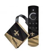 New Orleans Saints Amazon Fire TV Skin