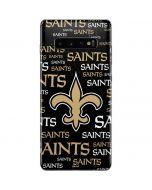 New Orleans Saints Black Blast Galaxy S10 Plus Skin