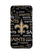 New Orleans Saints Black Blast iPhone XS Max Lite Case