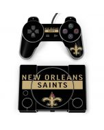 New Orleans Saints Black Performance Series PlayStation Classic Bundle Skin