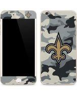 New Orleans Saints Camo iPhone 6/6s Plus Skin