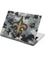 New Orleans Saints Camo Yoga 910 2-in-1 14in Touch-Screen Skin