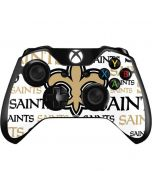 New Orleans Saints Gold Blast Xbox One Controller Skin