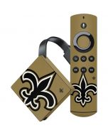 New Orleans Saints Large Logo Amazon Fire TV Skin