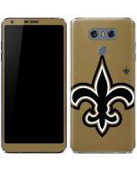 New Orleans Saints Large Logo LG G6 Skin