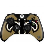 New Orleans Saints Large Logo Xbox One Controller Skin