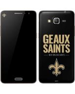 New Orleans Saints Team Motto Galaxy Grand Prime Skin