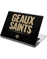 New Orleans Saints Team Motto Yoga 910 2-in-1 14in Touch-Screen Skin