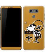 New Orleans Saints Retro Logo LG G6 Skin
