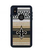 New Orleans Saints Trailblazer iPhone X Waterproof Case