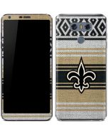 New Orleans Saints Trailblazer LG G6 Skin