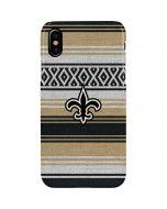 New Orleans Saints Trailblazer iPhone XS Max Lite Case