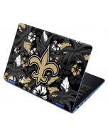 New Orleans Saints Tropical Print Aspire R11 11.6in Skin