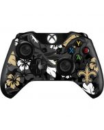 New Orleans Saints Tropical Print Xbox One Controller Skin