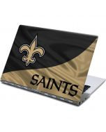 New Orleans Saints Yoga 910 2-in-1 14in Touch-Screen Skin