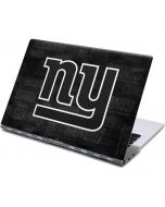 New York Giants Black & White Yoga 910 2-in-1 14in Touch-Screen Skin