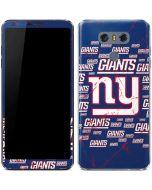 New York Giants Blast LG G6 Skin