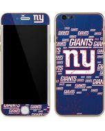 New York Giants Blast iPhone 6/6s Skin