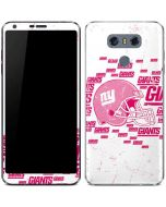 New York Giants- Blast Pink LG G6 Skin