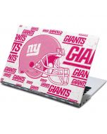 New York Giants- Blast Pink Yoga 910 2-in-1 14in Touch-Screen Skin