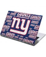 New York Giants Blast Yoga 910 2-in-1 14in Touch-Screen Skin