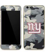 New York Giants Camo iPhone 6/6s Skin