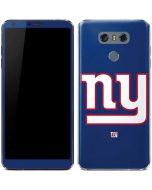 New York Giants Large Logo LG G6 Skin