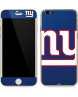 New York Giants Large Logo iPhone 6/6s Skin