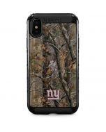 New York Giants Realtree AP Camo iPhone XS Max Cargo Case