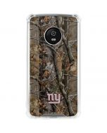 New York Giants Realtree AP Camo Moto G5 Plus Clear Case