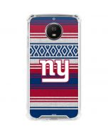 New York Giants Trailblazer Moto G5S Plus Clear Case