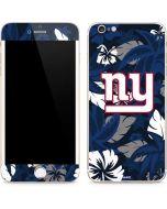 New York Giants Tropical Print iPhone 6/6s Plus Skin