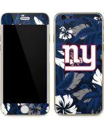 New York Giants Tropical Print iPhone 6/6s Skin