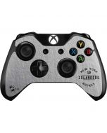 New York Islanders Black Text Xbox One Controller Skin